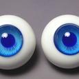 青グラデ(瞳孔コバルト)